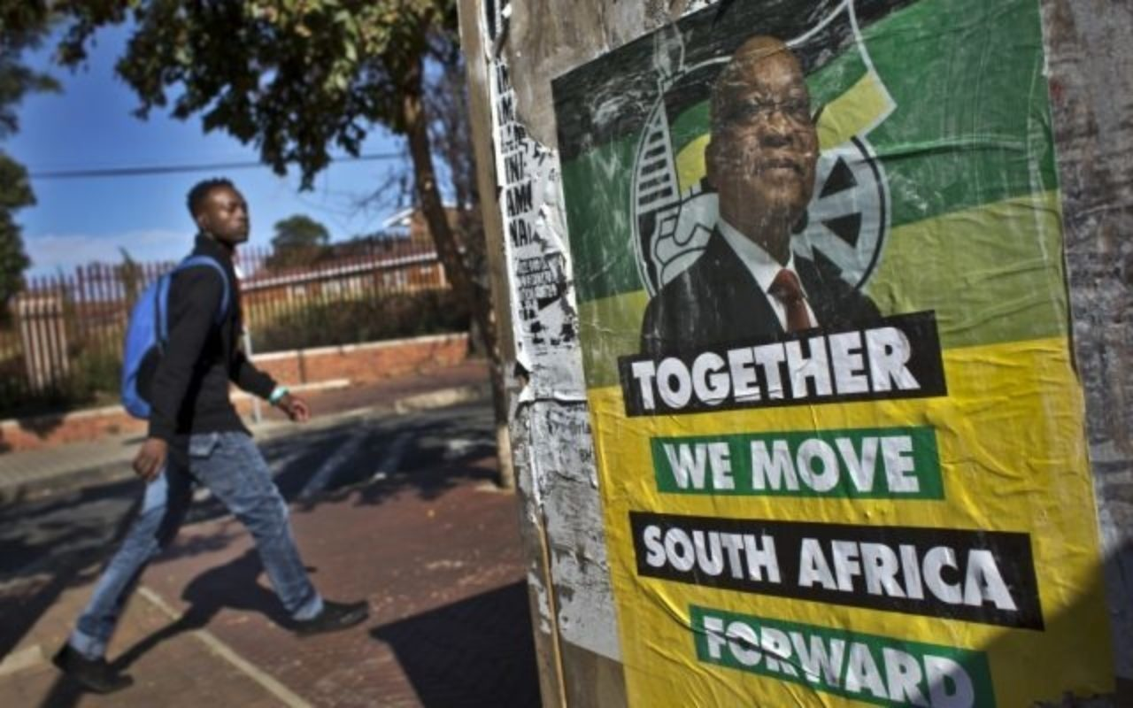 An image of the South African election