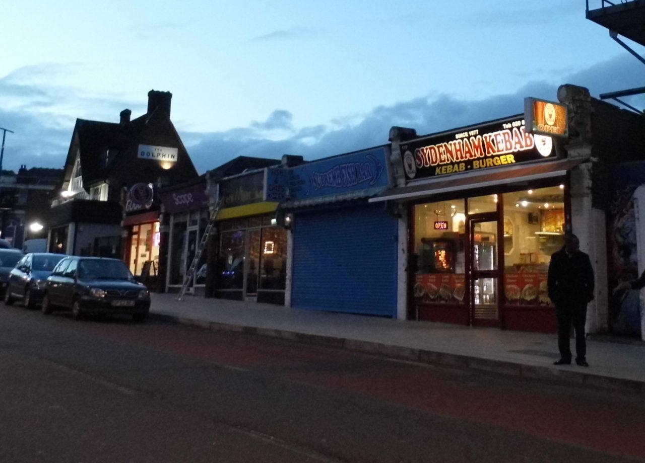 Sydenham shops