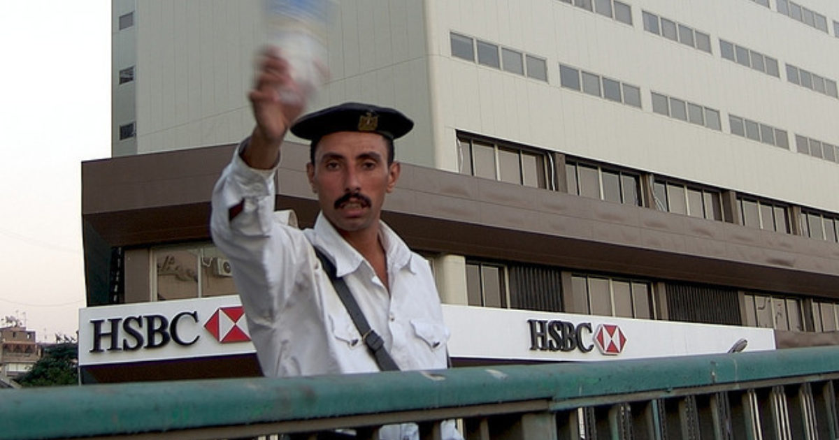 Hsbc under fire over its role in controversial egyptian for Bureau for investigative journalism