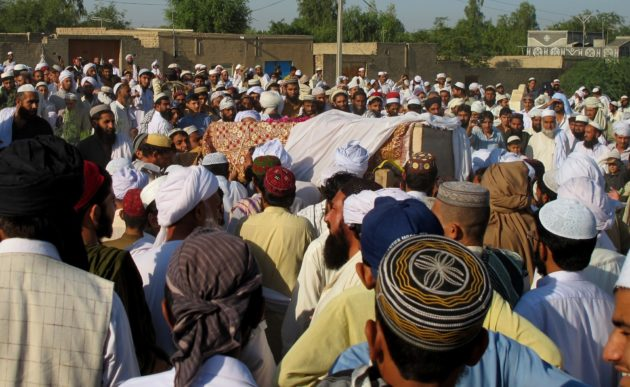 A Funeral For Victims Of US Drone Strike