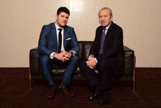 Mark Wright and Lord Sugar (Alan Sugar), Apprentice